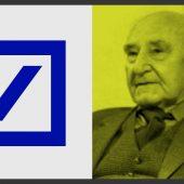Deutsche Bank Logo – Anton Stankowski  |  Logo design & Designer review