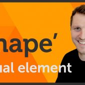 'Shape' Visual element of Graphic Design / Design theory – EP 4/45
