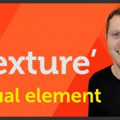 'Texture' Visual element of Graphic Design / Design theory – EP 5/45