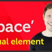 'Space' Visual element of Graphic Design / Design theory – EP 6/45