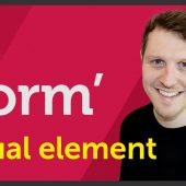 'Form' Visual element of Graphic Design / Design theory – EP 7/45
