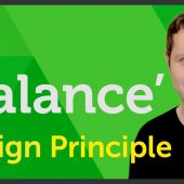 'Balance' Design principle of Graphic Design / Design theory – EP 12/45