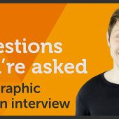 Questions you're asked at a Graphic Design interview? – EP 40/45