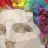 Polygonal / Low poly art | flat effect in Adobe Illustrator