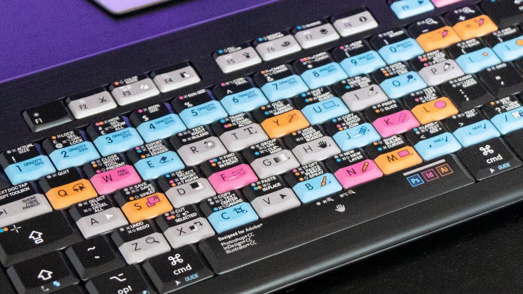 ASTRA design keyboard close-up