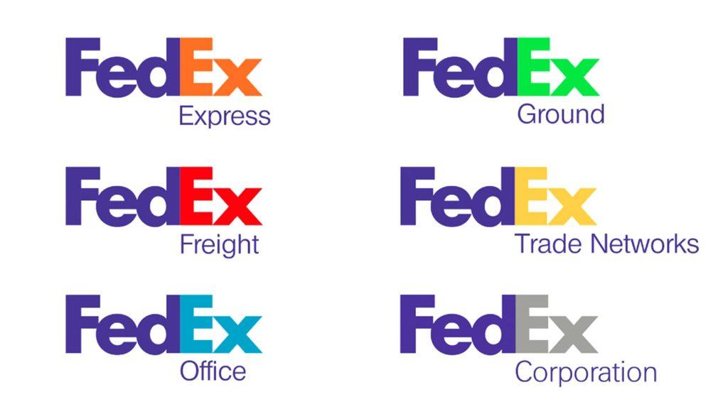 FedEx services logos