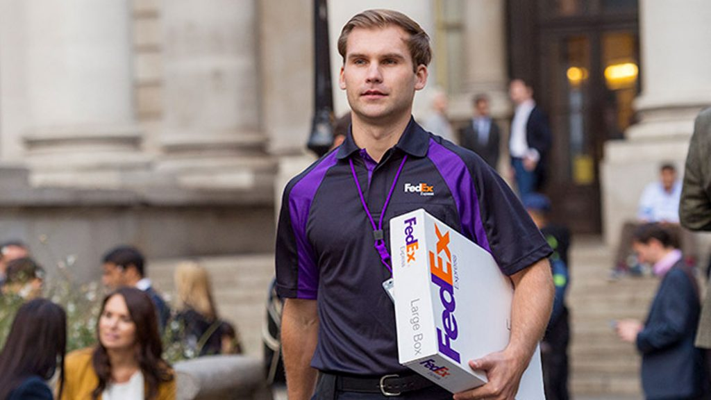 FedEx delivery man