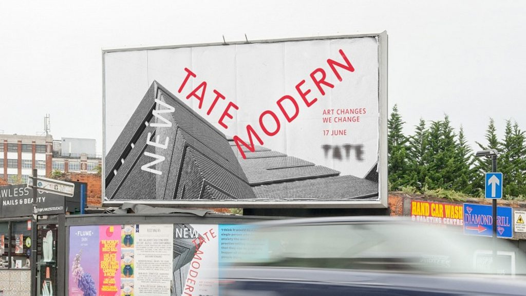 Tate Modern billboard