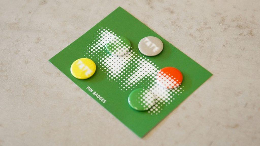 Tate badges