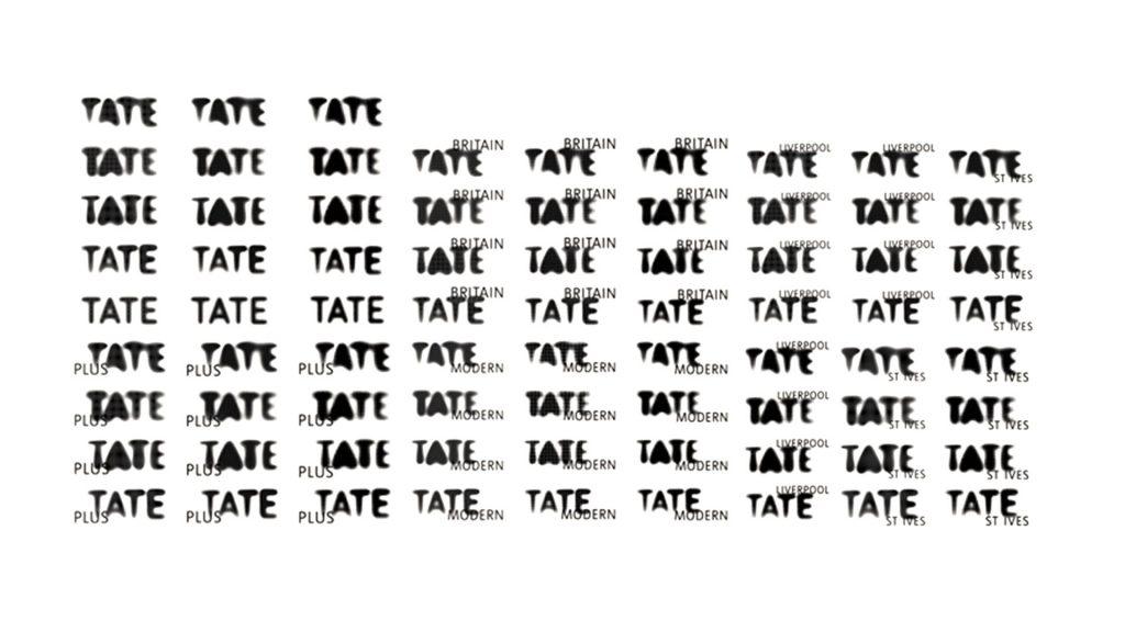 75 Tate logo versions
