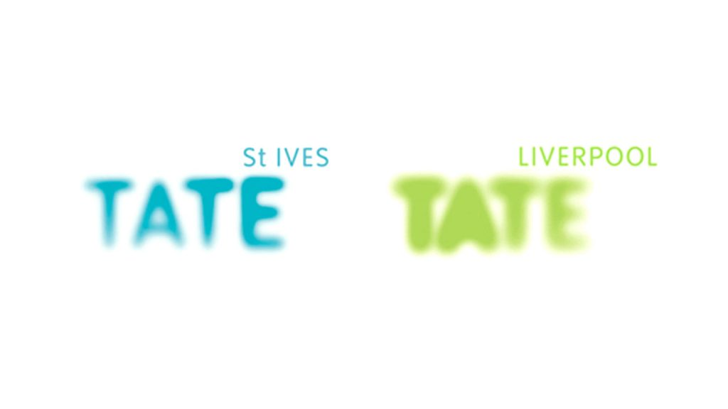 Tate St Ives and Tate Liverpool logos