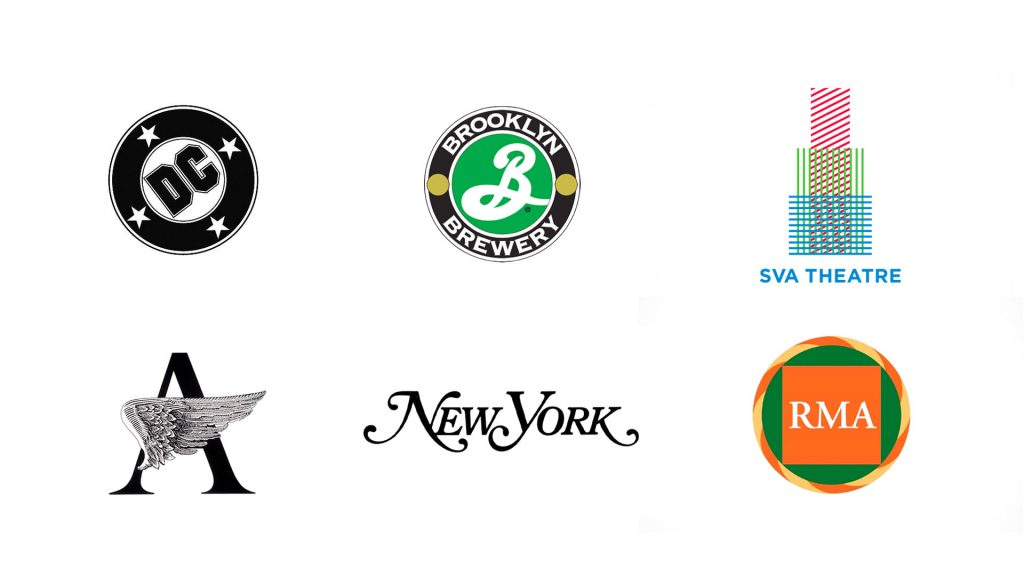 Logos Milton Glaser worked on