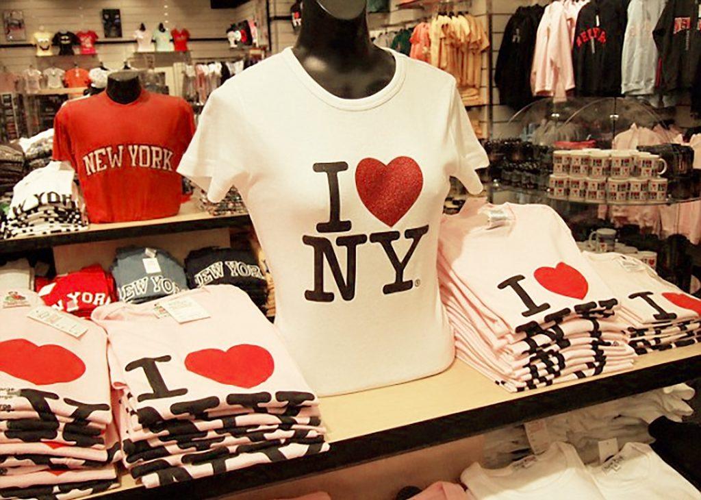 I (heart) NY logo merchandise