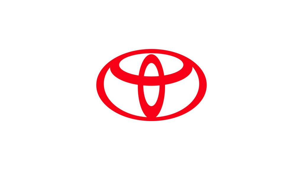Flat Toyota logo