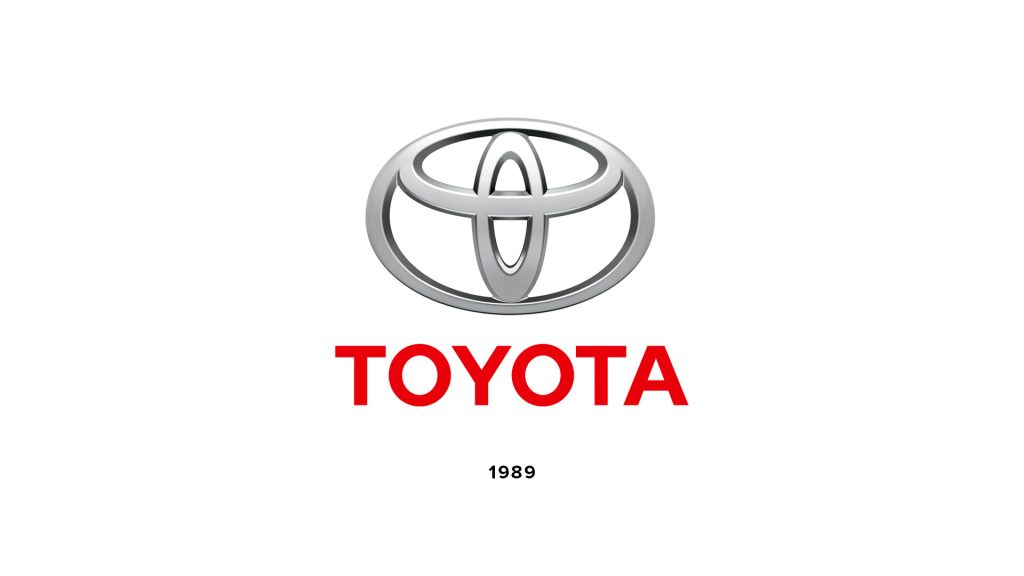 3D stacked Toyota logo