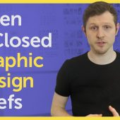 Open & Closed Graphic Design Briefs / Design brief examples