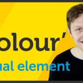 'Colour' Visual element of Graphic Design / Design theory – EP 3/45