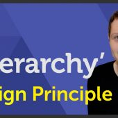 'Hierarchy' Design principle of Graphic Design / Design theory – EP 10/45