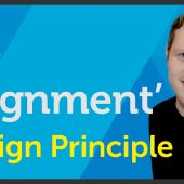 'Alignment' Design principle of Graphic Design / Design theory – EP 11/45