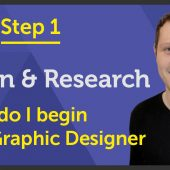 'Learn & Research' How do I begin as a Graphic Designer? – EP 22/45