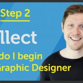 'Collect' How do I begin as a Graphic Designer? – EP 23/45