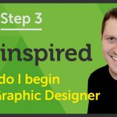 'Be inspired' How do I begin as a Graphic Designer? – EP 24/45