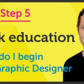 'Seek Education' How do I begin as a Graphic Designer? – EP 26/45