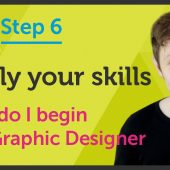 'Apply your skills' How do I begin as a Graphic Designer? – EP 37/45