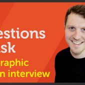 Questions to ask at a graphic design interview – EP 41/45